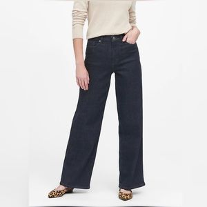 Banana Republic Wide Leg Jeans